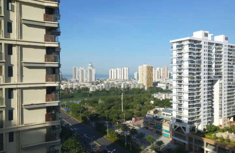 市区迎宾路 25度阳光 精装3房 短租半年 繁华地段 拎包