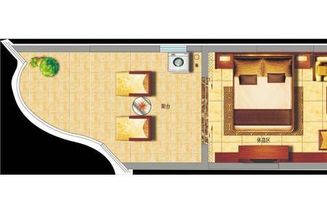 陵水中州国际,小户型一房,带精装,成熟配套