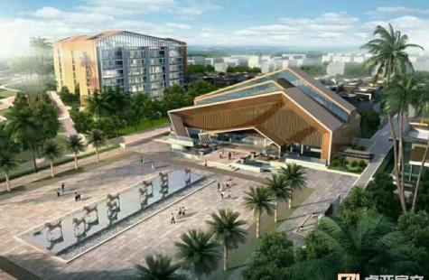海棠湾近海独栋别墅 现售999万 带私家泳池