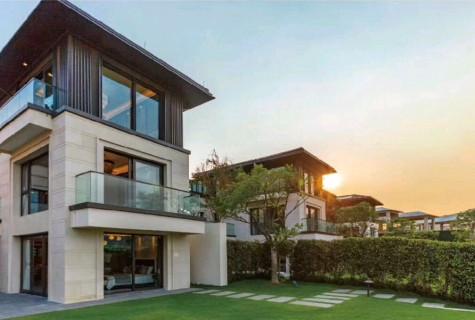 海棠湾独栋别墅635万精装修 ,带花园泳池
