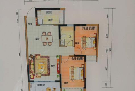 三亚市区,经典两居室,小高层洋房品质,准现房