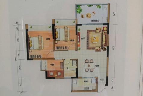 三亚低总价三居室,准现房,洋房品质,保利物业