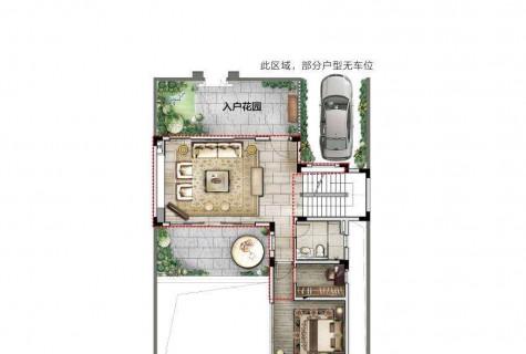 海棠湾独栋别墅632万,带花园泳池车位