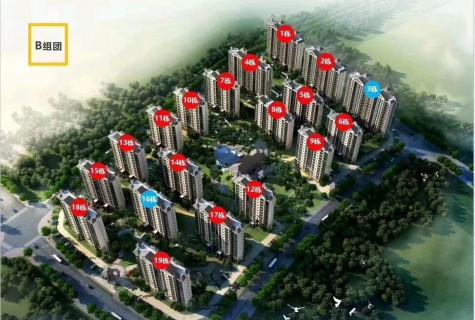 清水湾智汇城精装两房南北通透78平159万