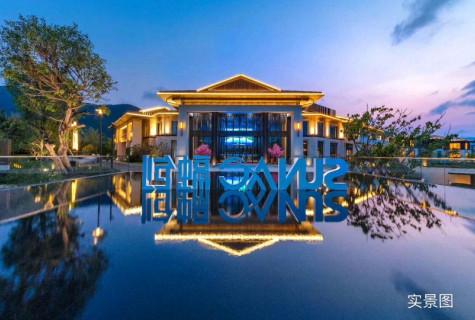 海棠湾独栋精装三房别墅,95平米使用252平米